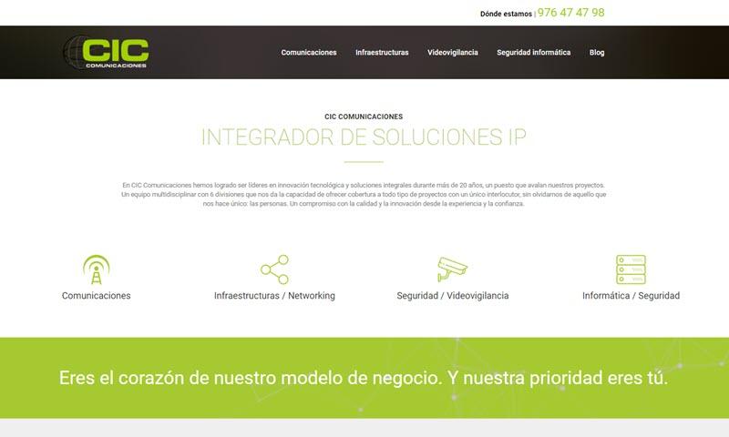Páginas web en Zaragoza | Visualcom